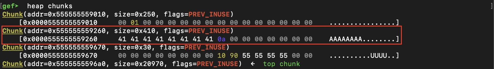 shellcode overwritten